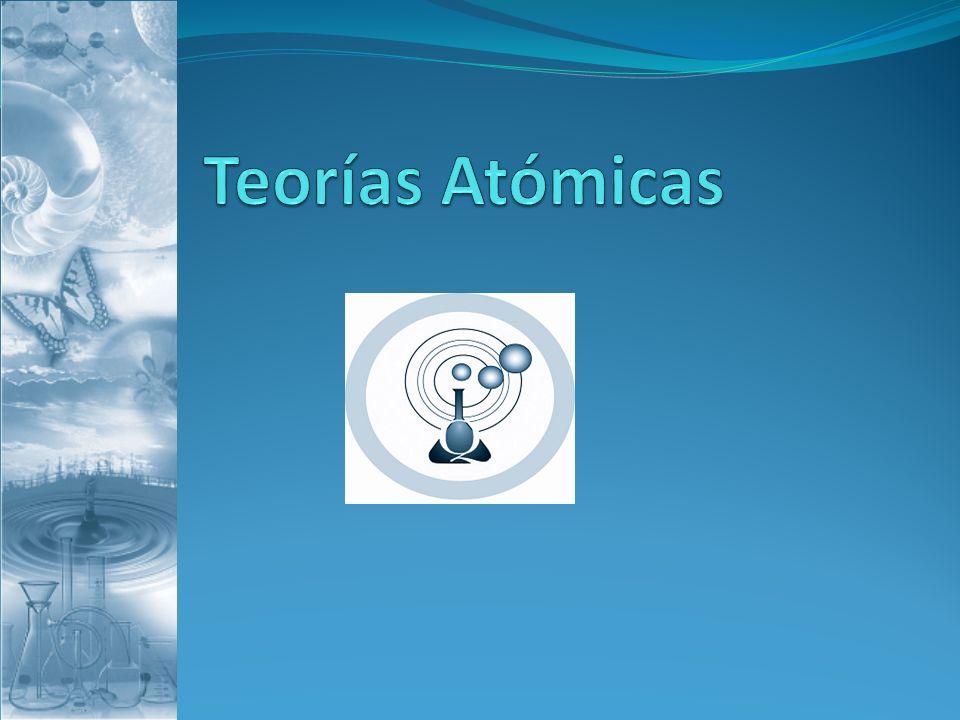 Objetivo: Conocer y comprender el modelo cuántico del átomo.