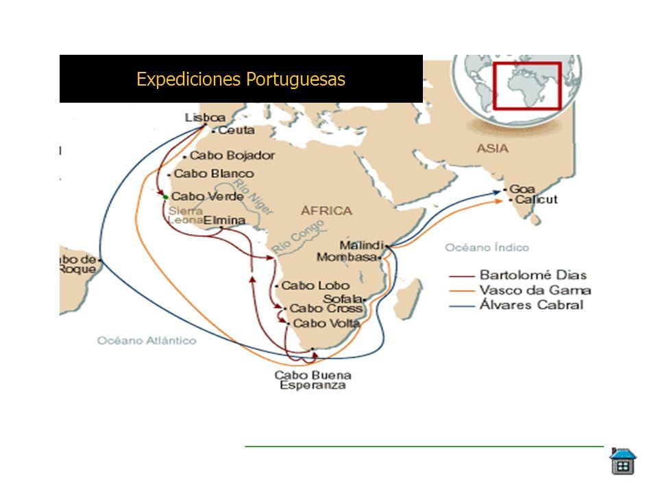 Expediciones Portuguesas