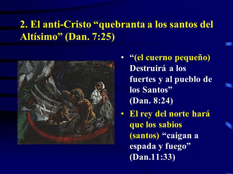 Es amplio el grupo de personajes que cumplen con esta primera característica del anti-Cristo, pero qué en cuanto a la segunda característica?
