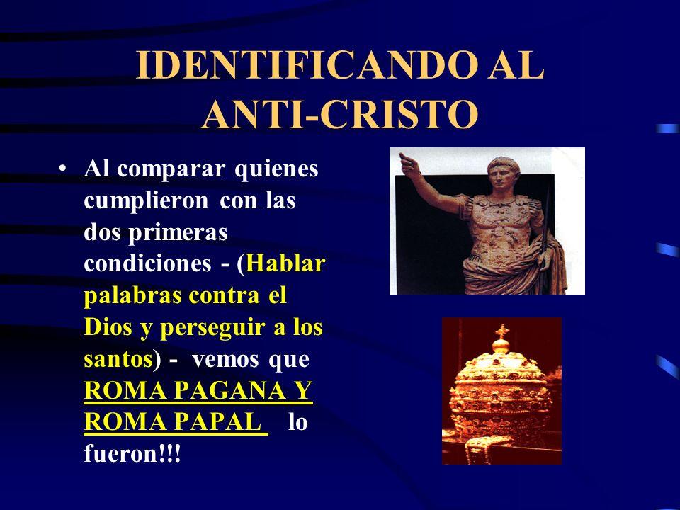 Qué reinos tuvieron que ver con la destrucción de los cristianos? EL PAPADO, durante la terrible inquisición persiguió, torturó y asesinó a cientos de