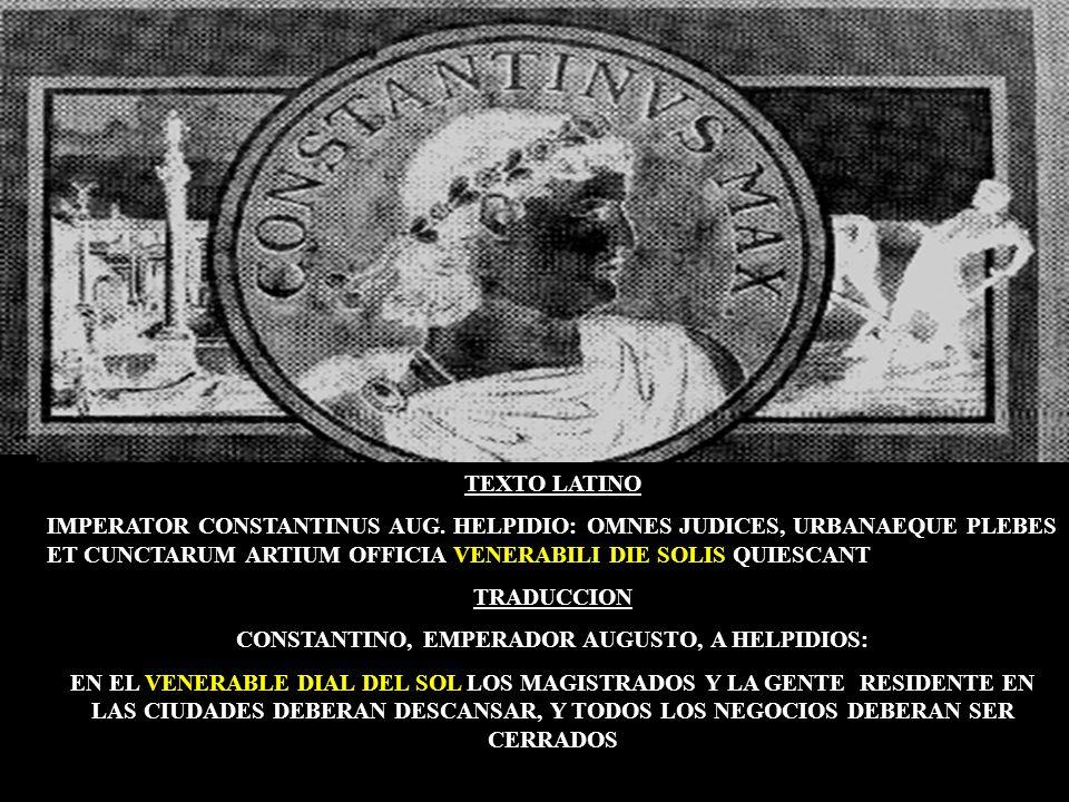 TANTO ROMA PAGANA COMO ROMA PAPAL CUMPLEN ESTA SEÑAL: Se unieron para CAMBIAR LA LEY DE DIOS!! En el año 321. El emperador Constantino dio ordenes par