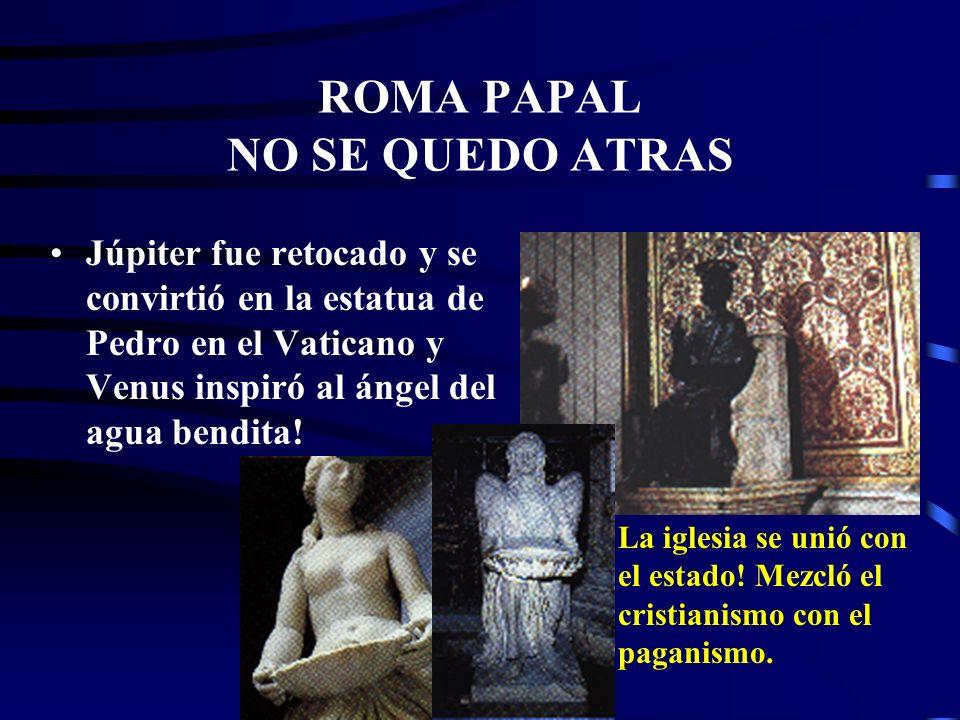 Una cuarta característica del anti-Cristo: HONRA AL DIOS DE LAS FORTALEZAS Roma pagana honraba al dios Júpiter y a la diosa Venus, la diosa de la fert