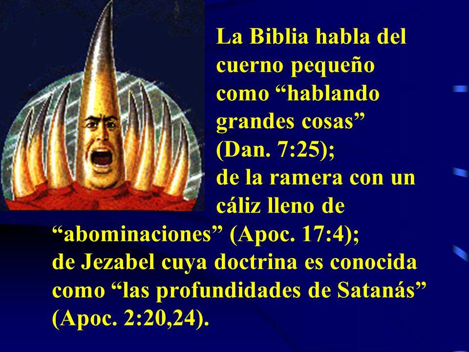 De todos los posibles anti-cristos, sólo el SISTEMA PAPAL cumple con todos los requisitos: PERSIGUIO A LOS FIELES... HONRO A LOS SANTOS PATRONES… SE D