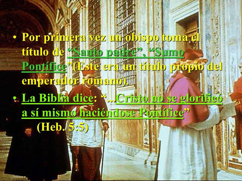Esto tuvo cumplimiento cuando el emperador CONSTANTINO se alió con la iglesia cristiana.Esto tuvo cumplimiento cuando el emperador CONSTANTINO se alió