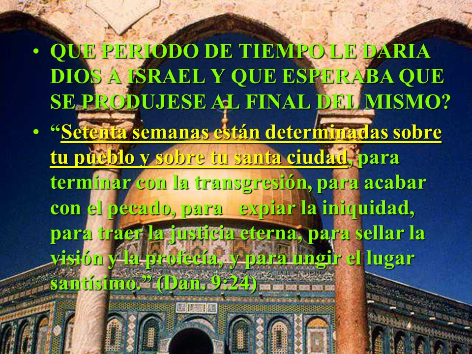 A qué santuario, que debía ser purificado, se refiere la profecía de los 2300 días? Era, pues, necesario purificar las figuras de las cosas celestiale