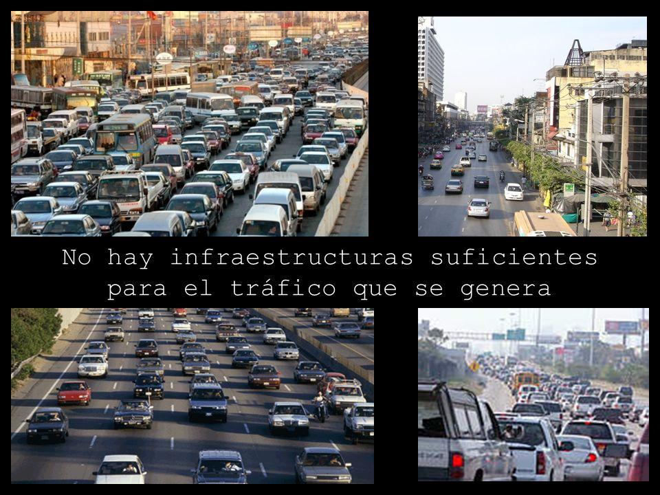 No hay infraestructuras suficientes para el tráfico que se genera