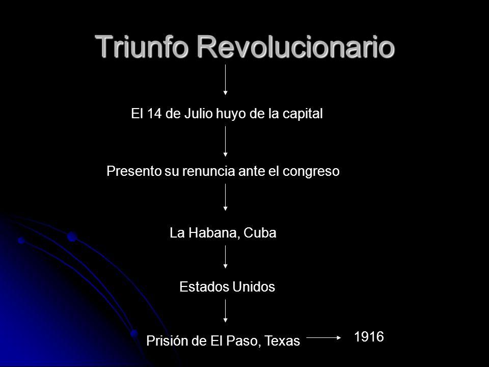 Francisco Carvajal, entonces ministro de Relaciones Exteriores, quedó al frente del gobierno con la tarea de entregar la capital a las fuerzas revolucionarias y negociar la rendición de las fuerzas federales.