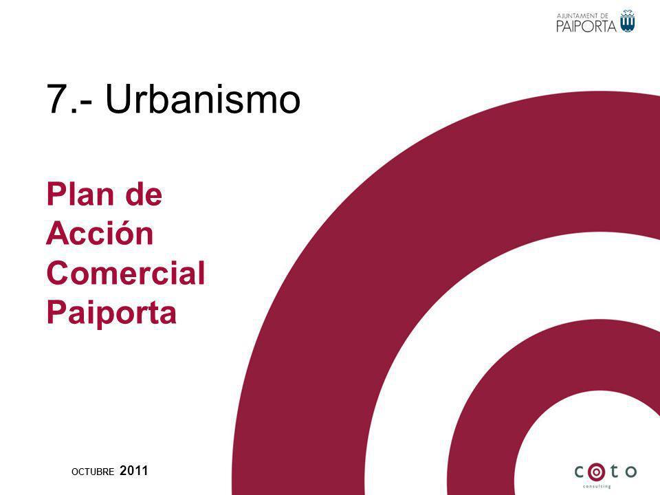 7.- Urbanismo OCTUBRE 2011 Plan de Acción Comercial Paiporta