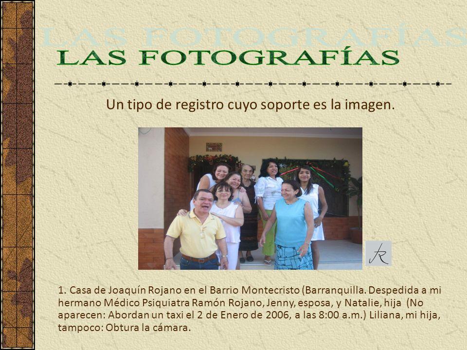 1. Casa de Joaquín Rojano en el Barrio Montecristo (Barranquilla. Despedida a mi hermano Médico Psiquiatra Ramón Rojano, Jenny, esposa, y Natalie, hij