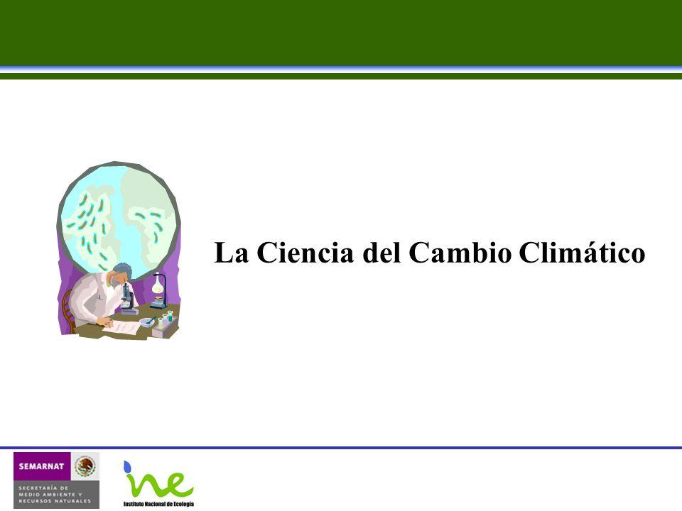 La Ciencia del Cambio Climático