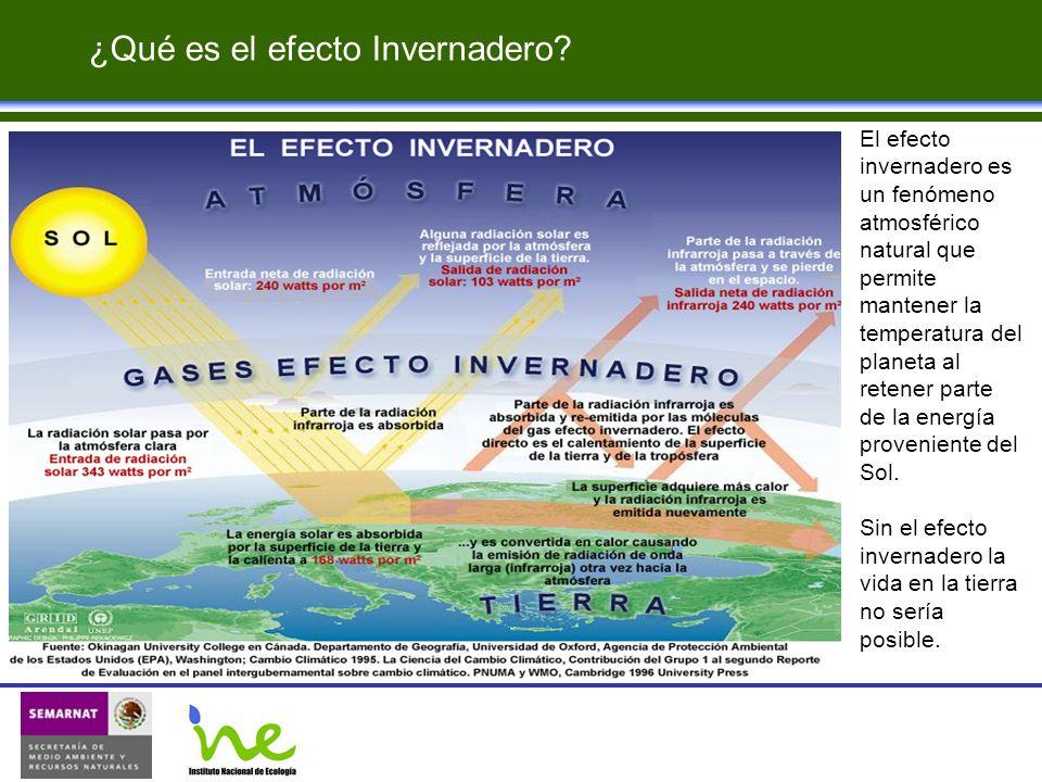 El efecto invernadero es un fenómeno atmosférico natural que permite mantener la temperatura del planeta al retener parte de la energía proveniente de