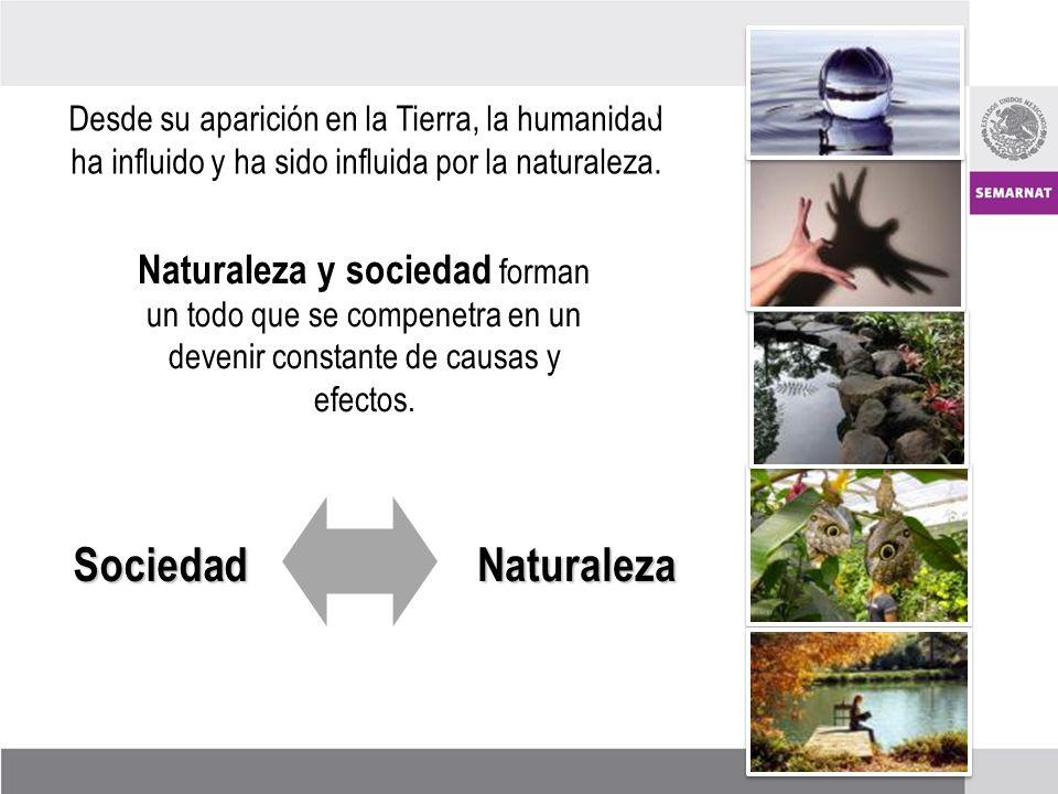 Desde su aparición en la Tierra, la humanidad ha influido y ha sido influida por la naturaleza.