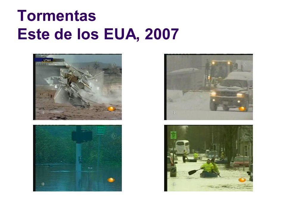 Tormentas Este de los EUA, 2007