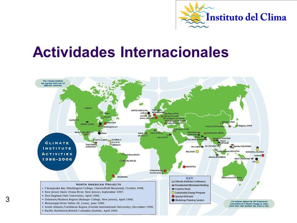 3 Actividades Internacionales