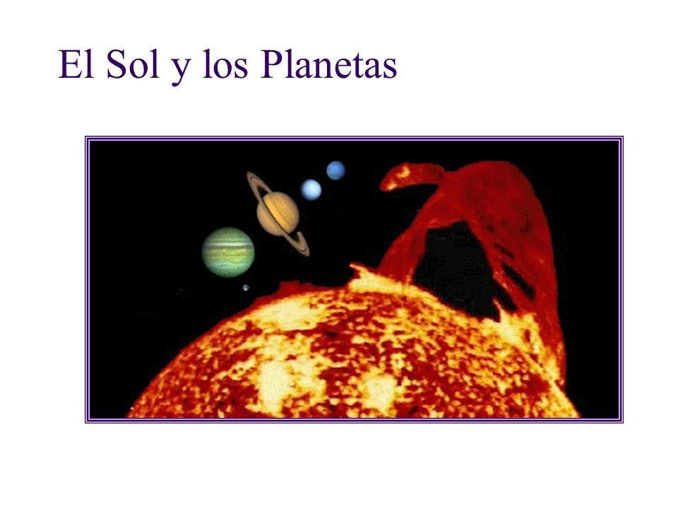 El Sol y los Planetas