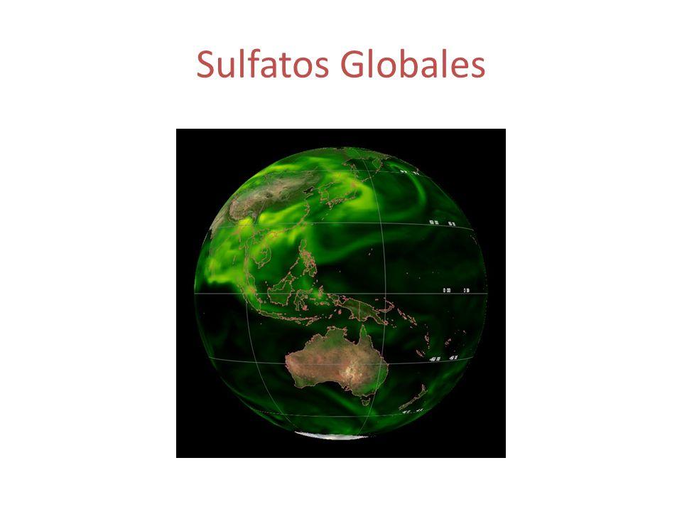 Sulfatos Globales