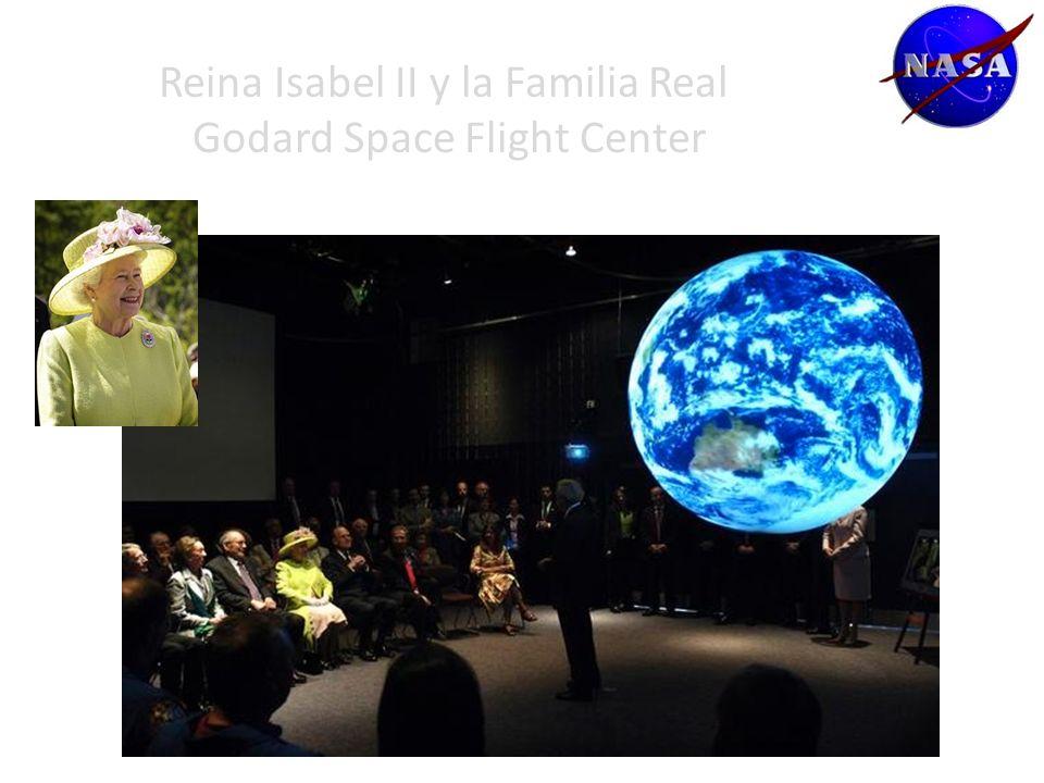Reina Isabel II y la Familia Real Godard Space Flight Center