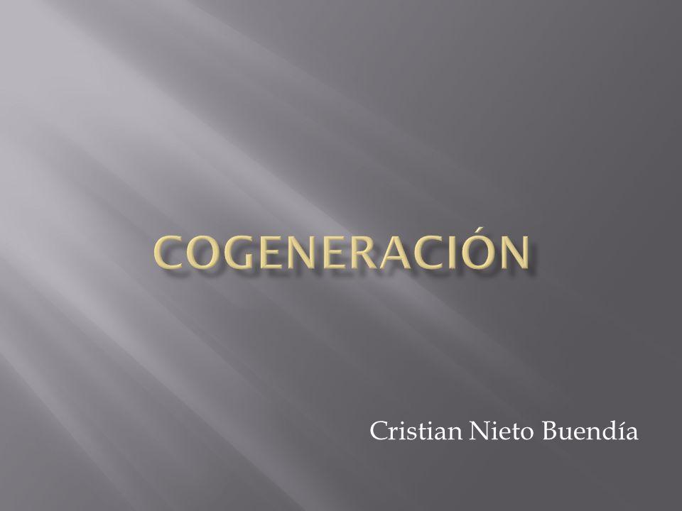 La cogeneración es el procedimiento mediante el cual se obtiene simultáneamente energía eléctrica y energía térmica útil (vapor, agua caliente sanitaria),
