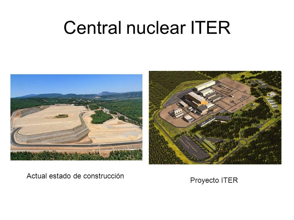 Central nuclear ITER Actual estado de construcción Proyecto ITER