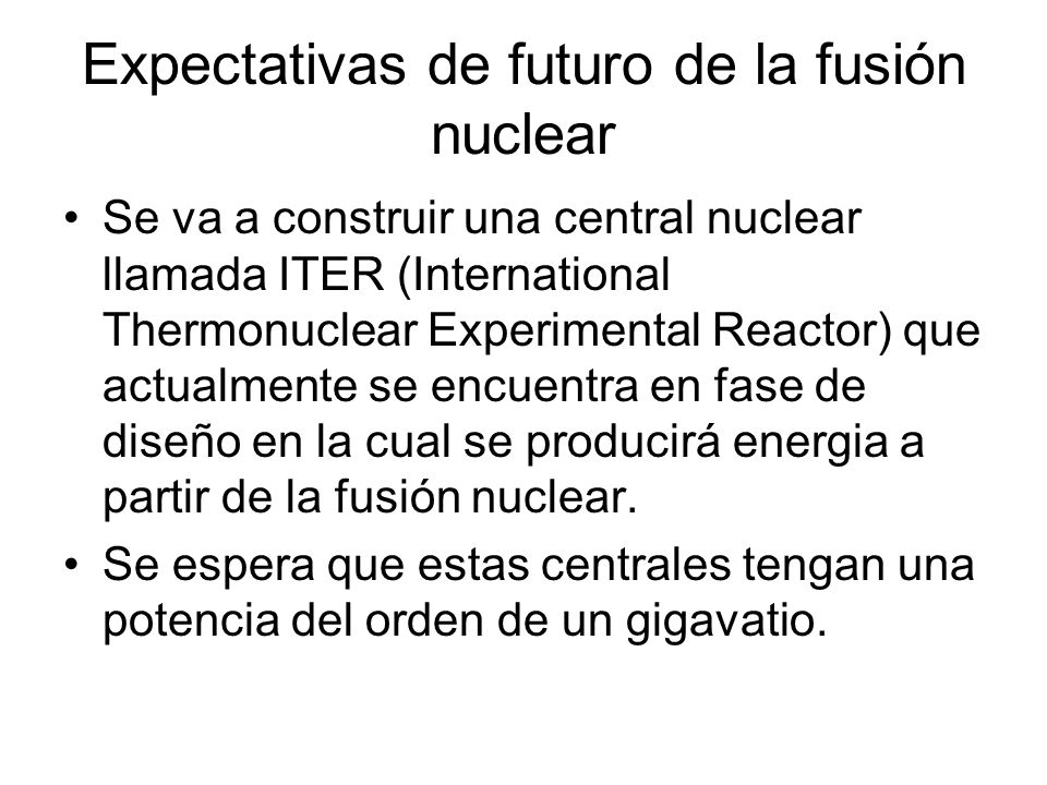 Bibliografía http://www- sen.upc.es/fusion/fusexpo/fusio.htm#venta jashttp://www- sen.upc.es/fusion/fusexpo/fusio.htm#venta jas http://es.wikipedia.org/wiki/Fusi%C3%B3n _nuclearhttp://es.wikipedia.org/wiki/Fusi%C3%B3n _nuclear http://energia- nuclear.net/es/como_funciona/fusion_nucl ear.htmlhttp://energia- nuclear.net/es/como_funciona/fusion_nucl ear.html