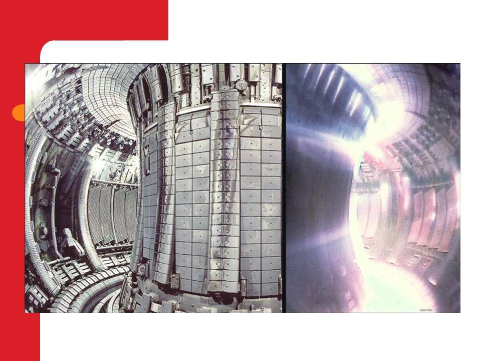 Ventajas de la fusión nuclear Es una energía limpia ya que no produce gases nocivos y genera residuos nucleares de muy baja actividad.