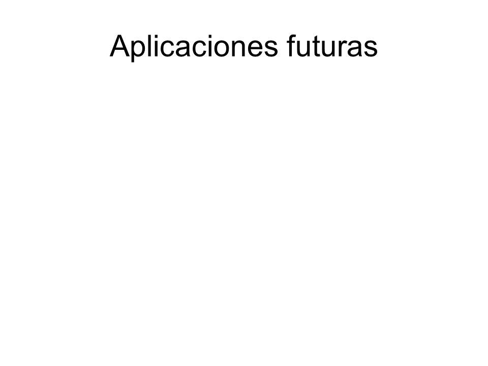 Aplicaciones futuras