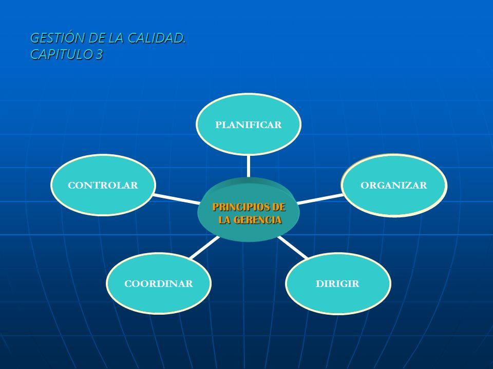 CARACTERISTICAS DE LA GERENCIA 1.Es universal 2.