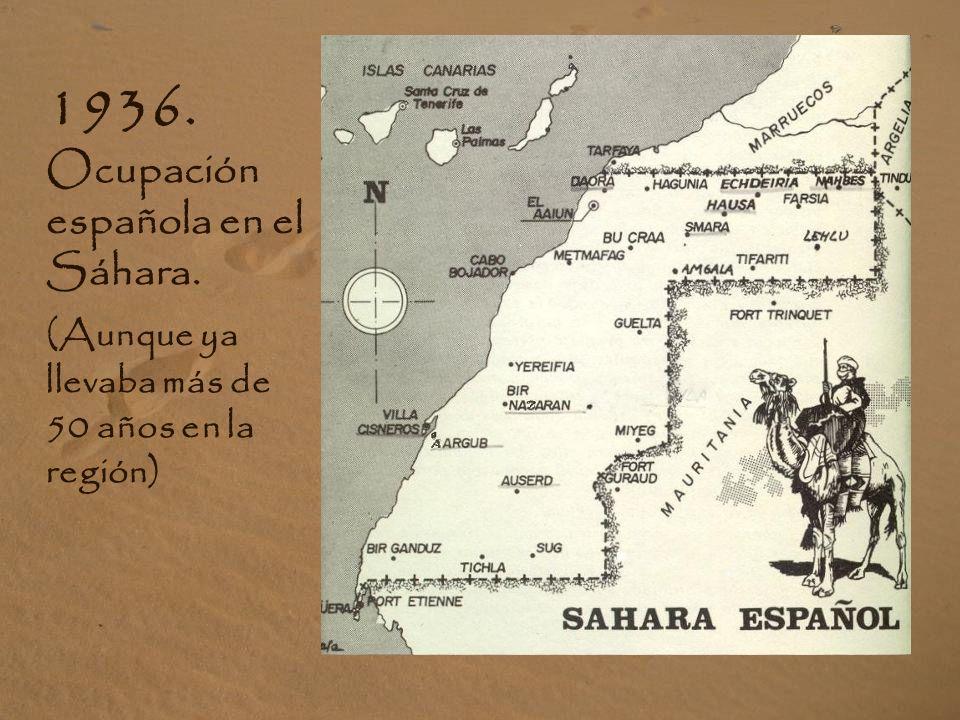 A FAVOR DEL PUEBLO SAHARAUI: El 80% de la población española está a favor de la causa justa saharaui.