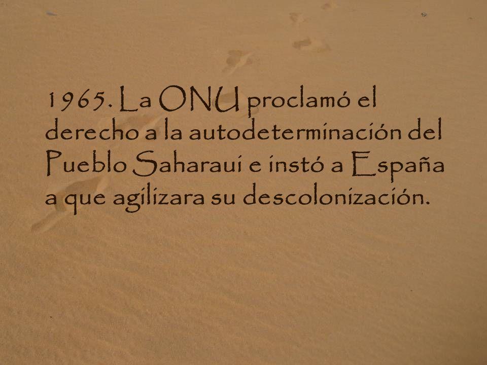 ZONA OCUPADA: En ella viven más de 300.000 saharauis.