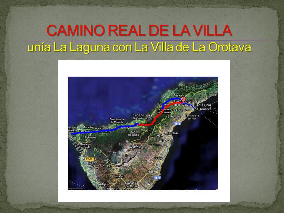 Desde la ermita de San Benito partían dos caminos hacia el norte de la isla.