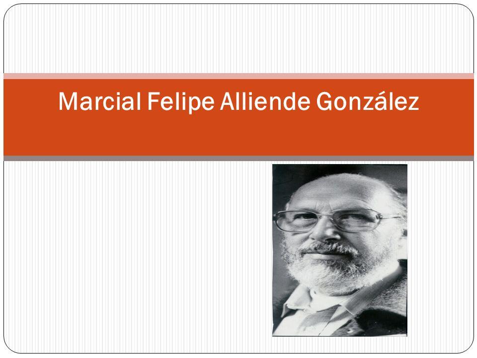 Marcial Felipe Alliende González