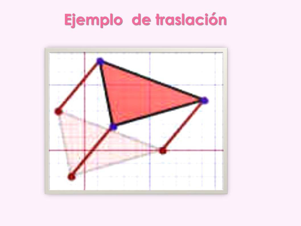 Ejemplo N º3 Si quieres decir que una figura se mueve 30 unidades en la dirección X y 40 unidades en la dirección Y, escribimos: (x,y) = (x+30, y+40) Esto nos dice que todas las coordenadas x e y se convierten en x+30 e y+40