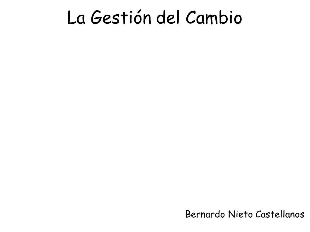 La Gestión del Cambio Bernardo Nieto Castellanos