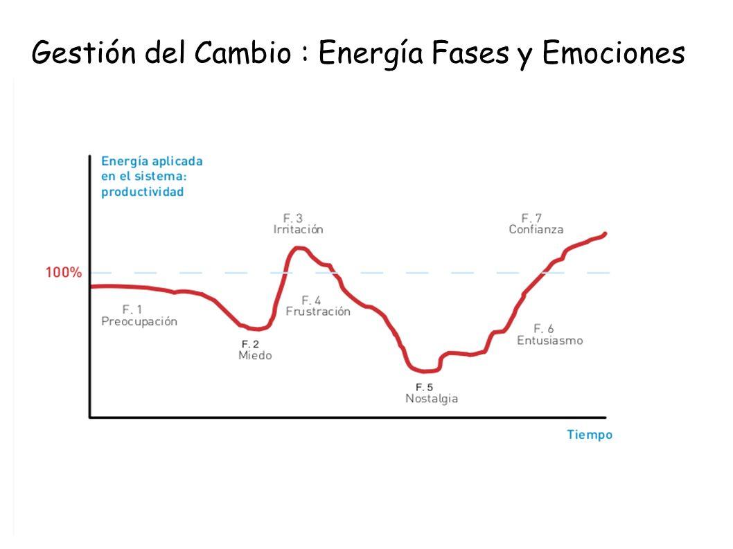 Gestión del Cambio : Energía Fases y Emociones