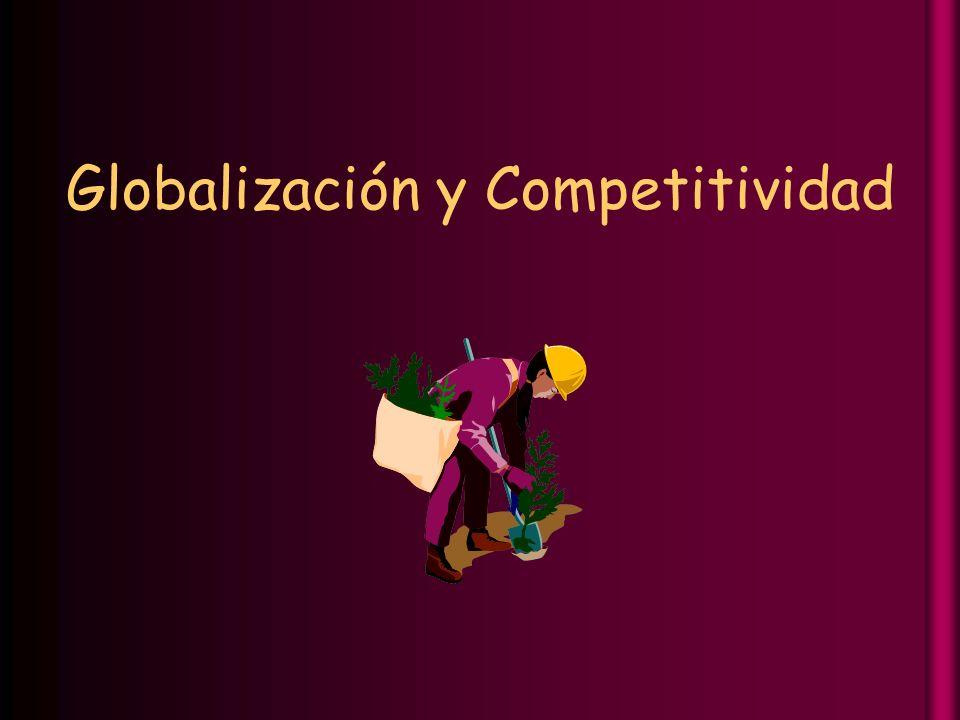 Globalización y Competitividad