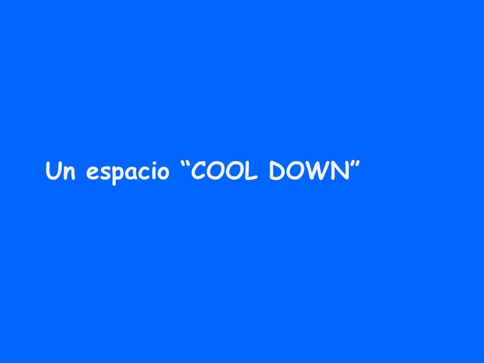 Un espacio COOL DOWN