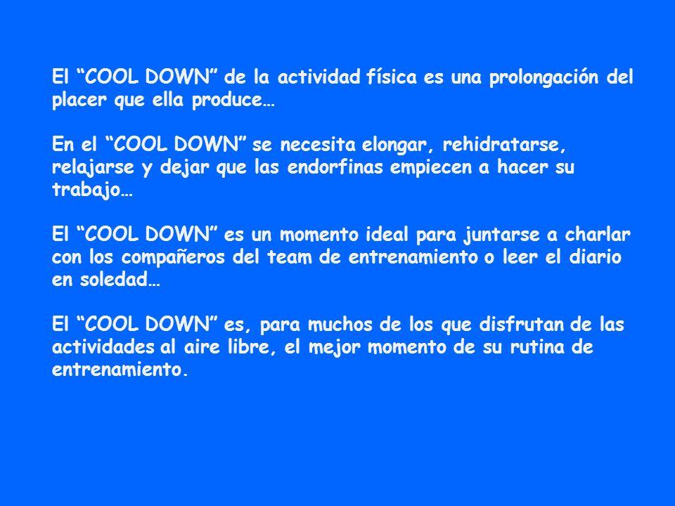 COOL DOWN Puede estar en varios puntos estratégicos de una ciudad.