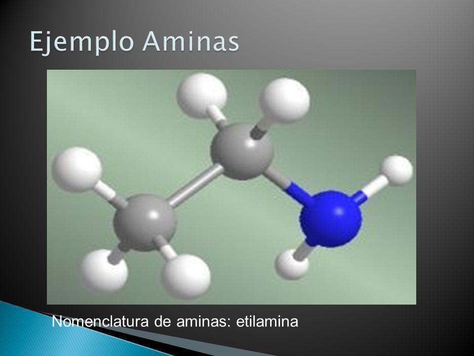 Nomenclatura de aminas: etilamina