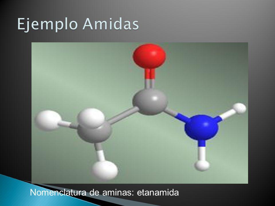 Nomenclatura de aminas: etanamida