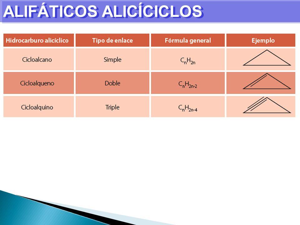 ALIFÁTICOS ALICÍCICLOS