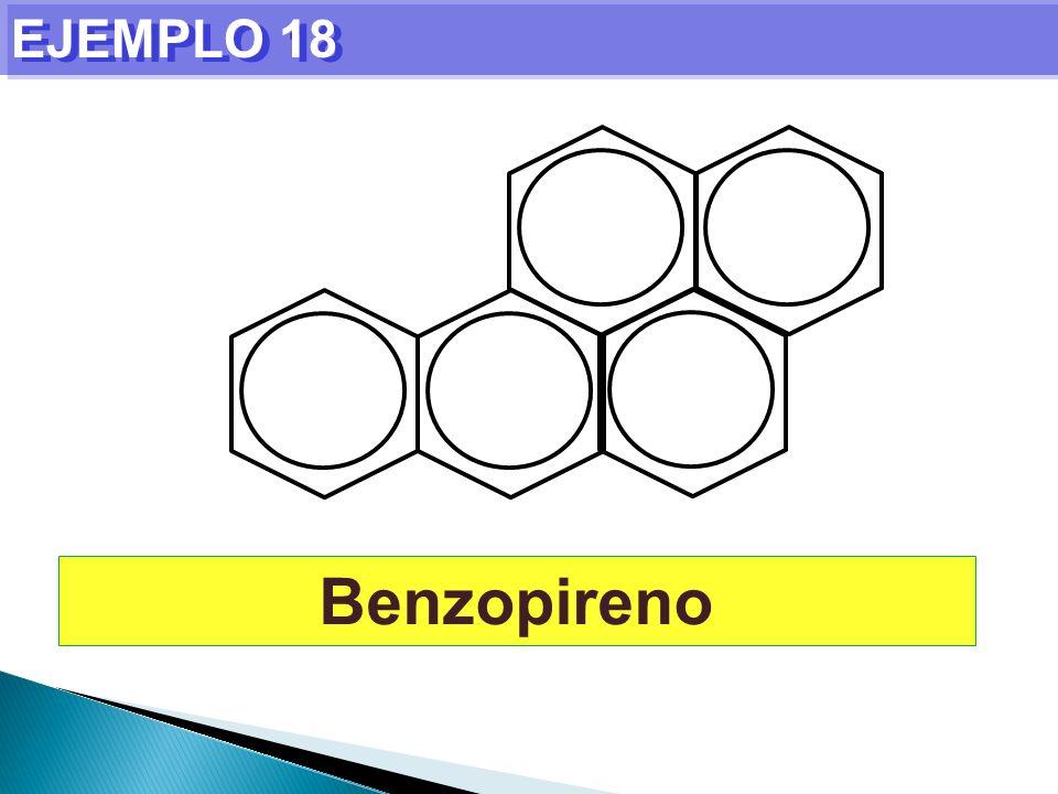EJEMPLO 18 Benzopireno