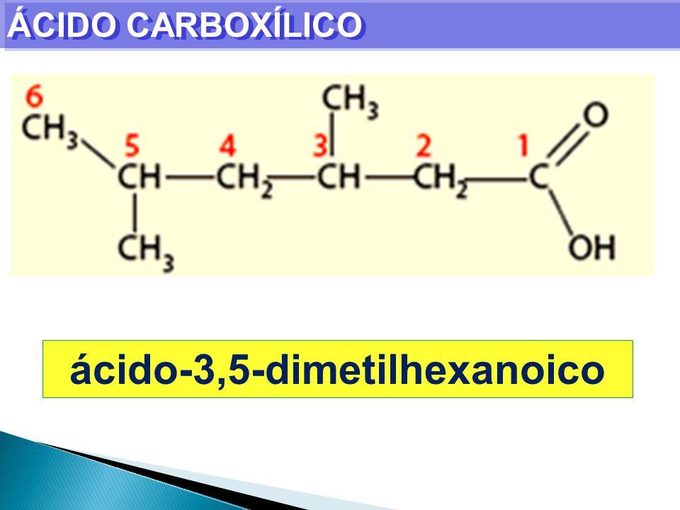 ÁCIDO CARBOXÍLICO ácido-3,5-dimetilhexanoico
