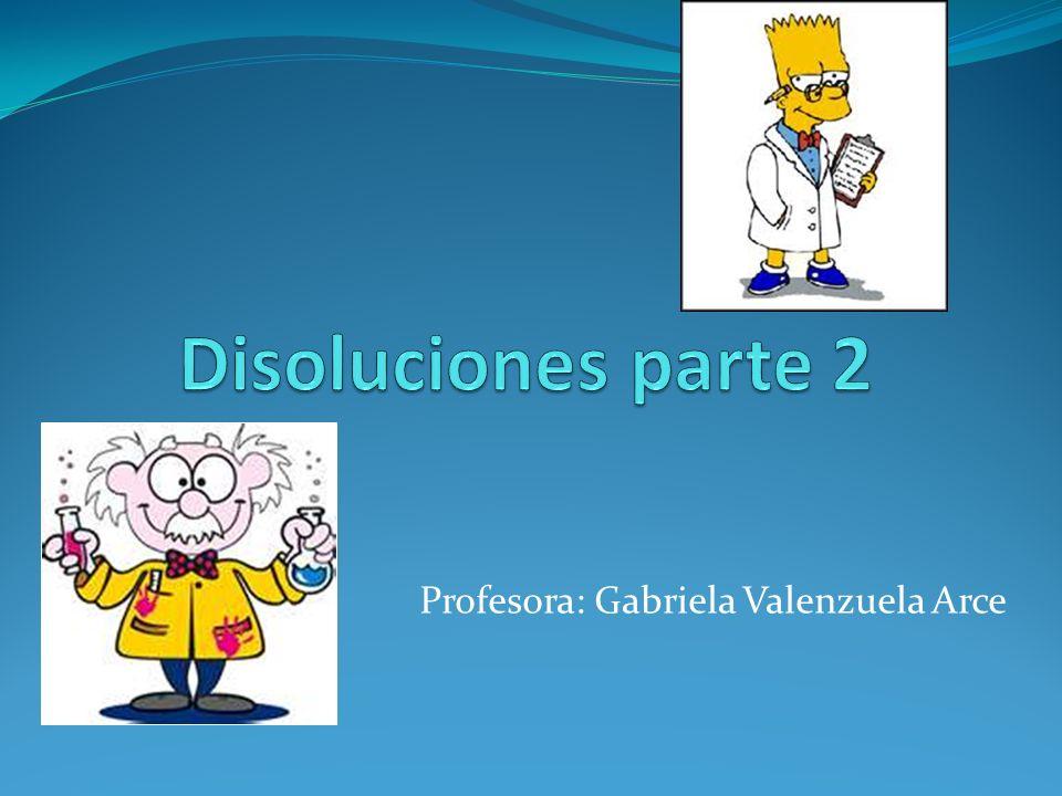 Profesora: Gabriela Valenzuela Arce