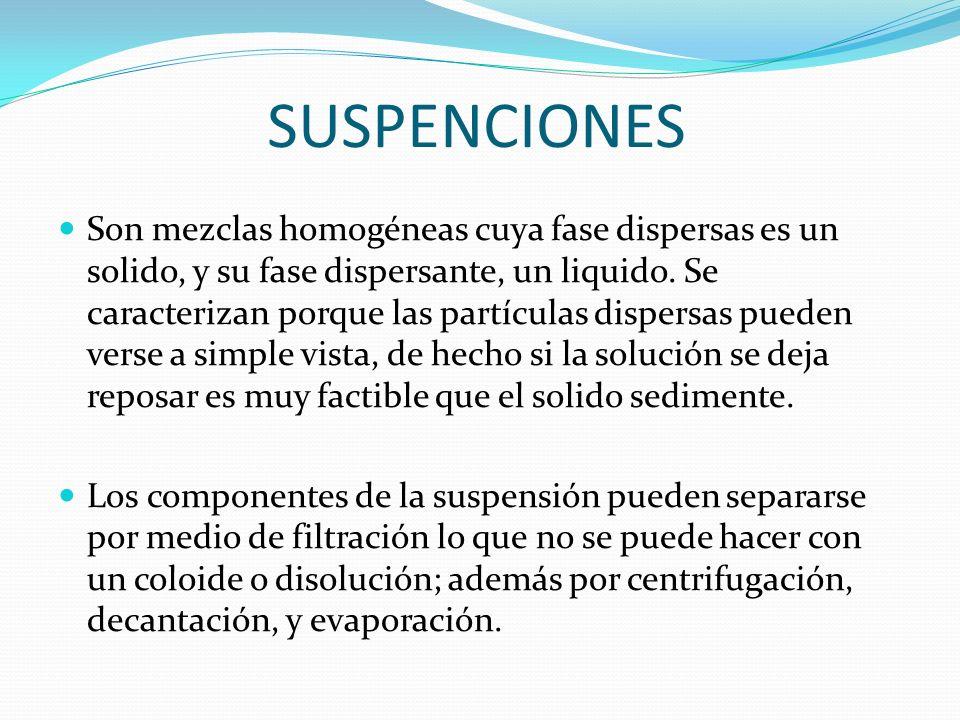 MEZCLAS HOMOGENEAS Y HETEROGENEAS