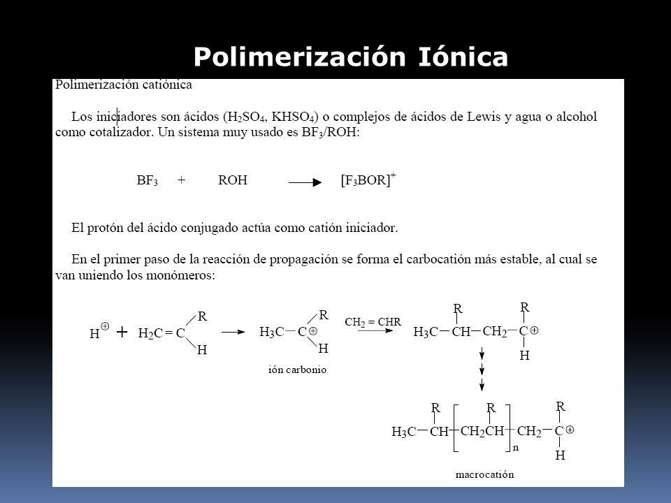 Polimerización Iónica