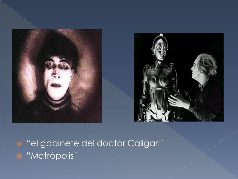 el gabinete del doctor Caligari Metrópolis