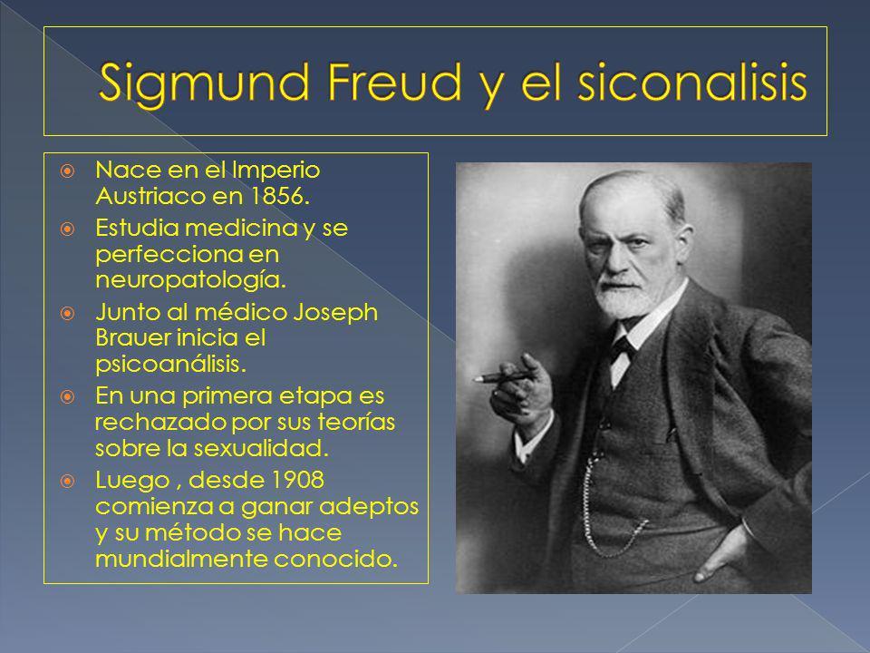 Nace en el Imperio Austriaco en 1856. Estudia medicina y se perfecciona en neuropatología.