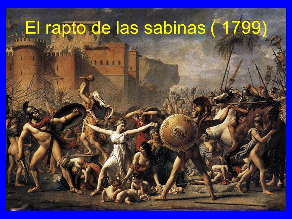El rapto de las sabinas ( 1799)