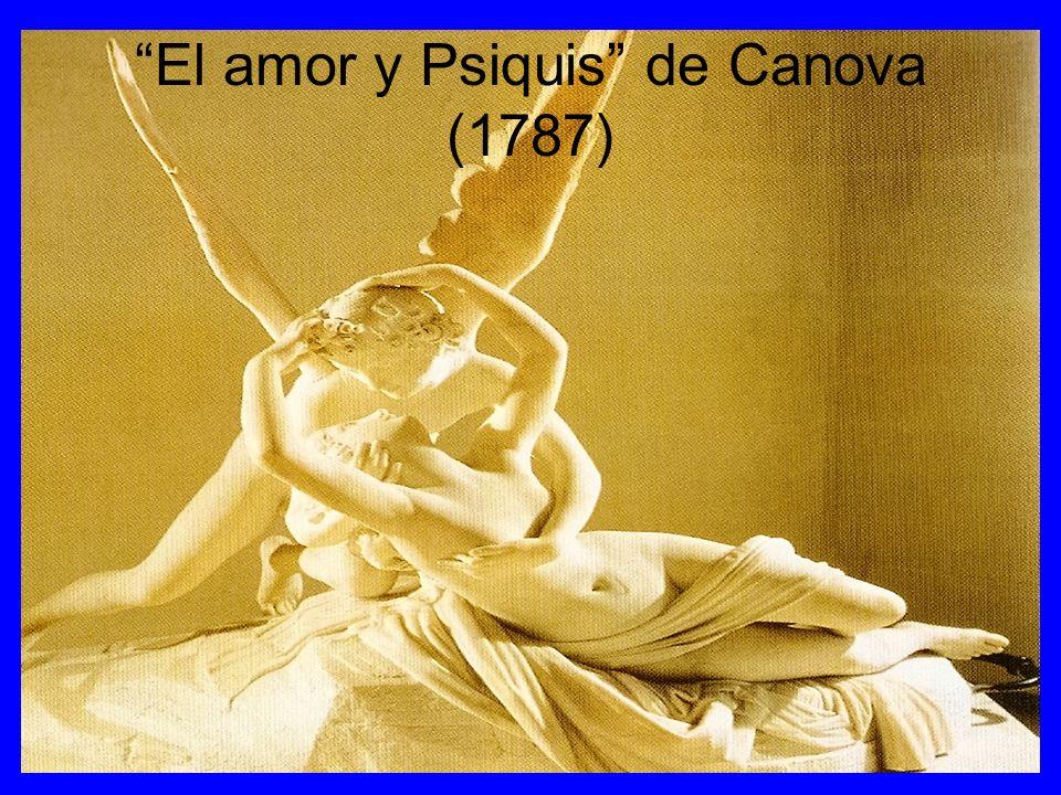 El amor y Psiquis de Canova (1787)