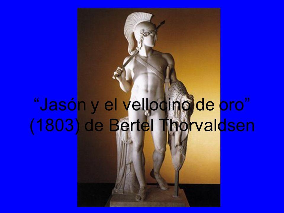 Jasón y el vellocino de oro (1803) de Bertel Thorvaldsen